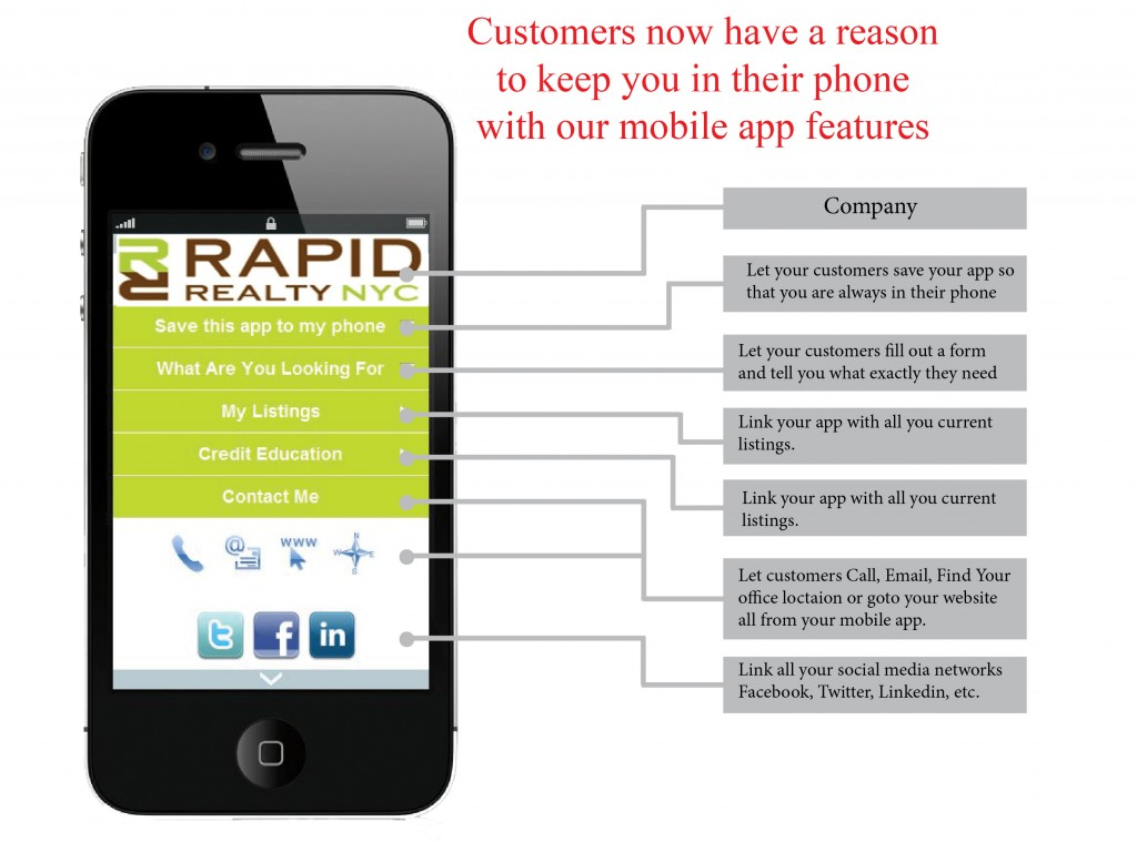 Realtor Mobile marketing Listing Advantage  new